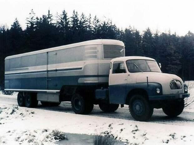 Tatra-T173 СССР, автомобили, советская техника, советские машины
