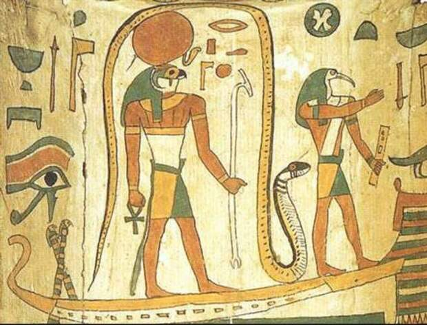 Бог Амон Ра. Главный бог Древнего Египта (8 фото)
