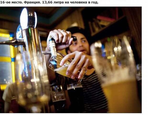Топ-25 пьющих стран мира (27 фотографий)