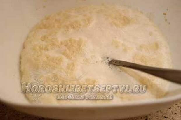 Пирог из рисовой муки
