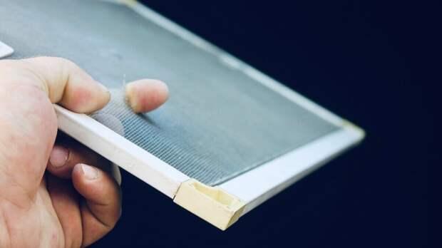 Как избавиться от дырок на москитной сетке
