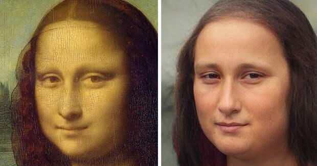 22 знаменитых портрета, которые оживили с помощью нейросетей
