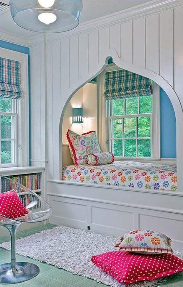 Очаровательный дизайн кроватей в алькове, которые добавят уюта