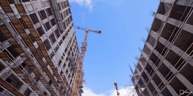 Собянин рассказал о Единой цифровой платформе в сфере строительства Москвы.Фото: Д. Гришкин mos.ru