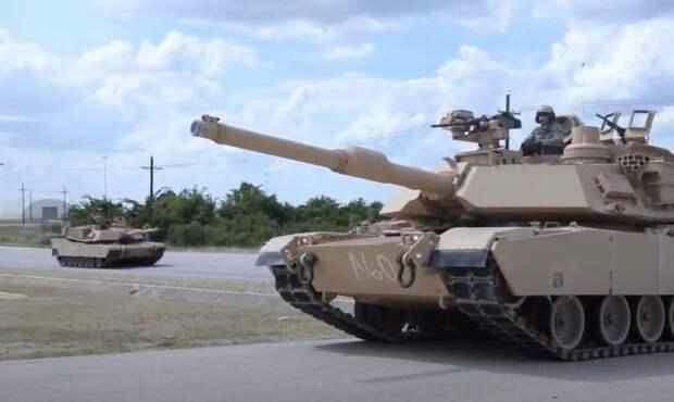 В Польше и России реагируют на предложении главы польского Минобороны разместить танки Abrams в «Смоленских воротах»