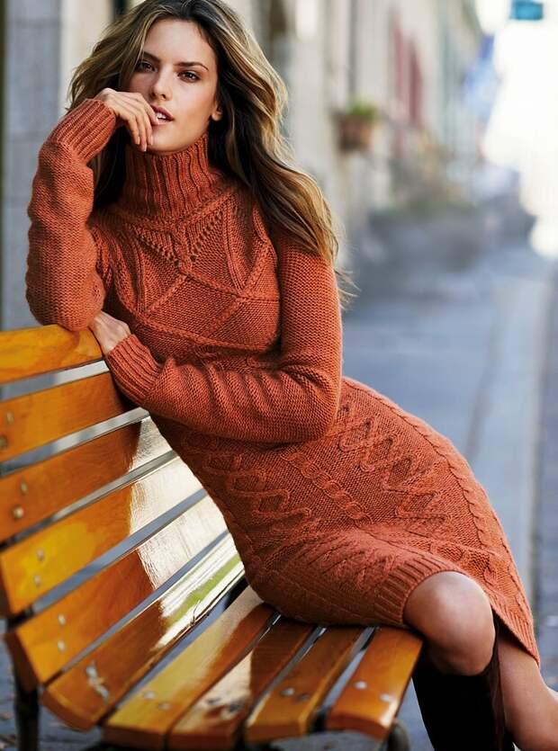 Каким должно быть зимнее платье? /Фото: gidlady.ru