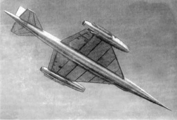 5. Цыбин НМ-1. концепты, самолёты, ссср