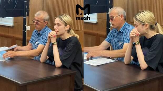 Тверской суд Москвы арестовал Валерию Башкирову на два месяца. Она будет находиться в...