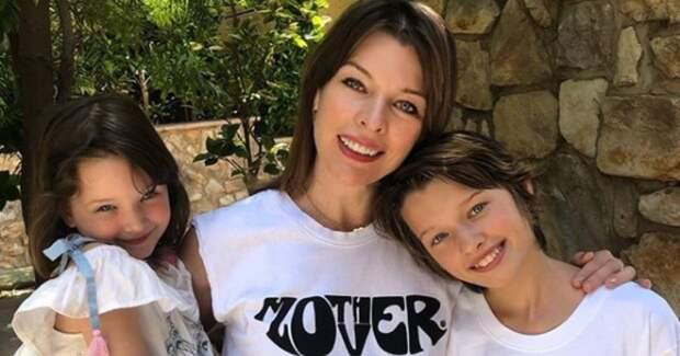 12-летняя дочерь Милы Йовович невероятно похожа на звездную маму