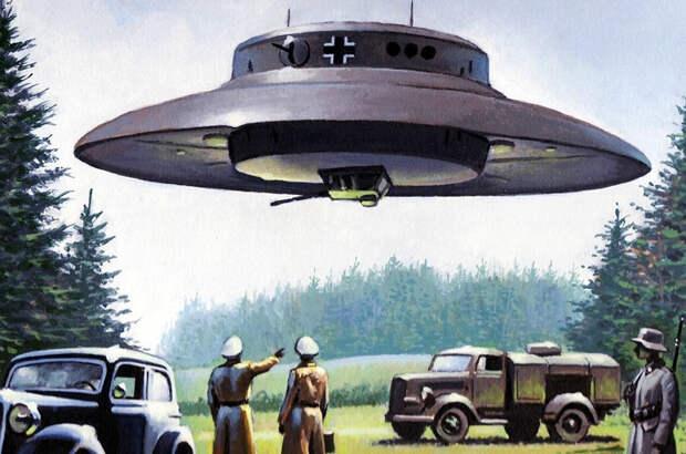 Кто и как создал летающие тарелки на Земле