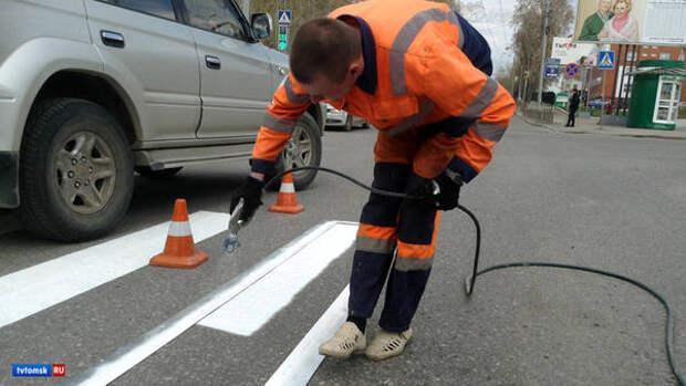 Еще 107 млн рублей получил Томск на ремонт дорог по нацпроекту