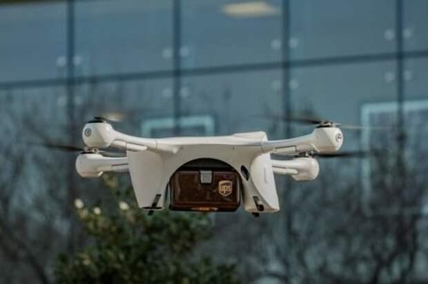 UPS начало замену курьеров беспилотными летательными аппаратами