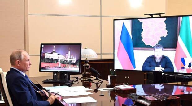 Владимир Путин рассказал Кадырову куда тому стоит пойти и это «точно совершенно»