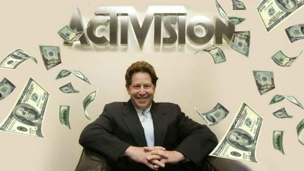 Скандал в индустрии игр: глава Activision выписал себе премию в $200 млн