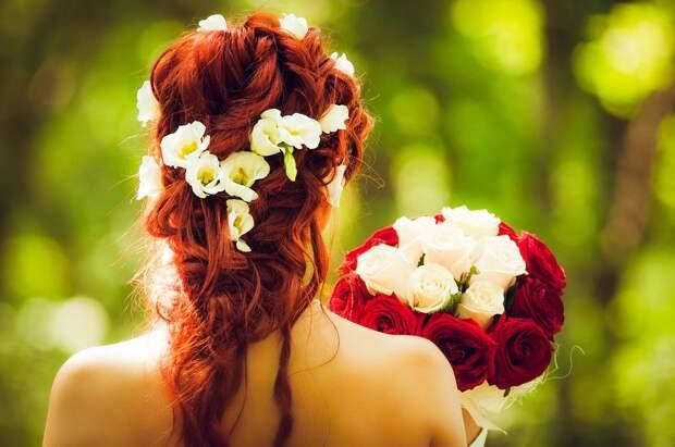 Невеста, Свадьбы, Рыжий, Красные Волосы