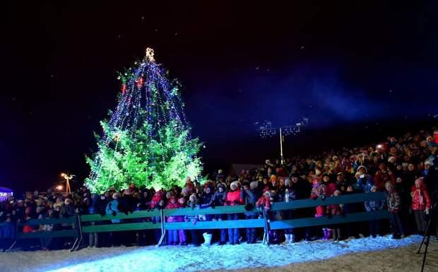 Огни на главной новогодней ёлке в Удмуртии зажгут в усадьбе Тол Бабая 12 декабря