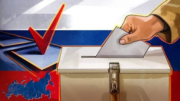 Семья в Рязани пришла на голосование в образах Евпатия Коловрата и Авдотьи Рязаночки
