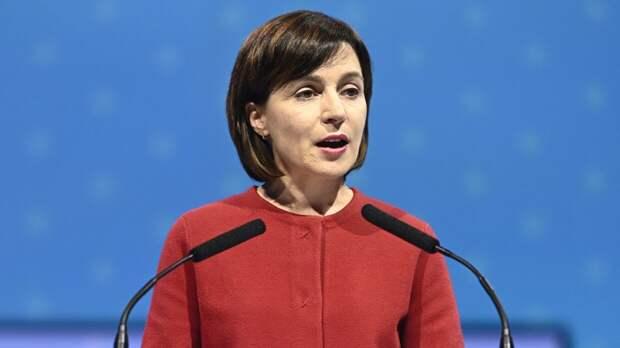 Социалисты Молдавии заявили об участии Санду в антинациональном заговоре