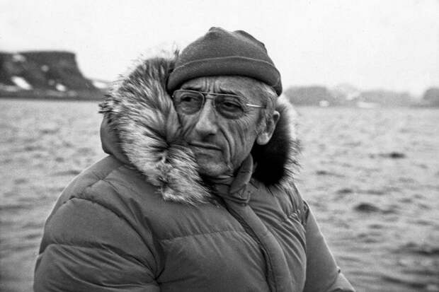 Жак - Ив Кусто. Фото из открытых источников