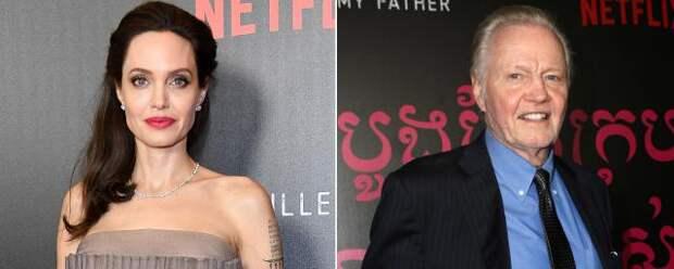Отец Анджелины Джоли считает, что в разводе виноват Брэд Питт