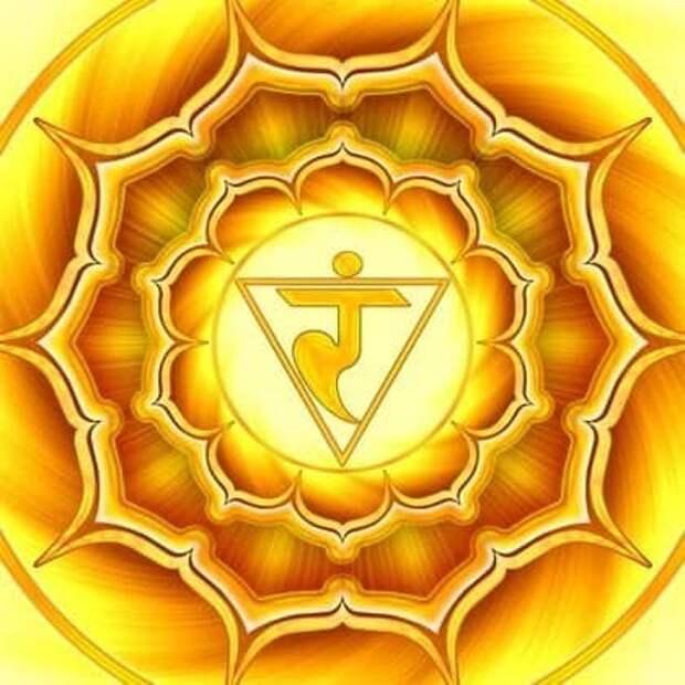 Манипура-чакра обеспечивает жизнедеятельность человека в социуме.