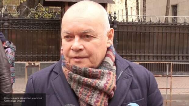 Дмитрий Киселев считает, что Мария Певчих должна предстать перед судом