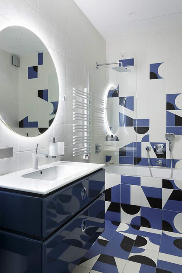 Просто фото: Хаоc и геометрия — в плитке