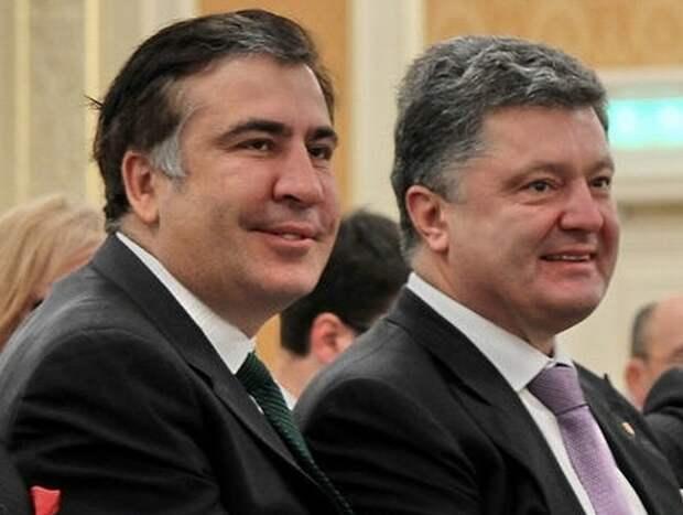 Барыга, дебил и сплетник: Саакашвили раскрыл подноготную Порошенко