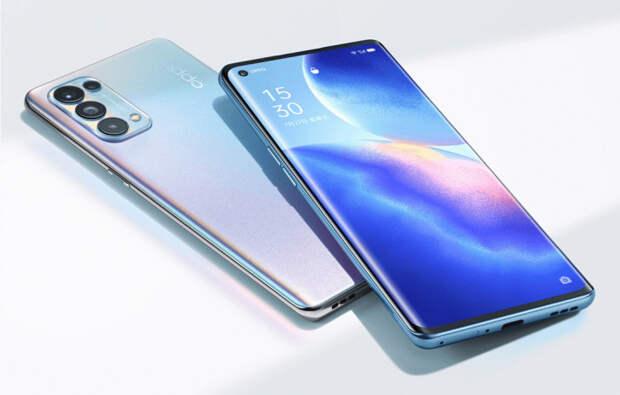 Представлен тонкий смартфон OPPO Reno 5 Pro с флуоресцентными вставками