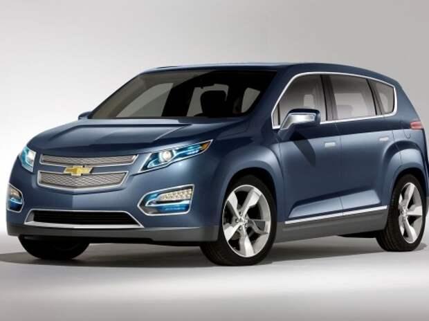 GM выпустит кроссовер Chevrolet Crossvolt