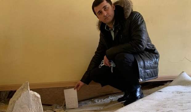 Прокурор проверит дом без пола для сирот в поселке Целина