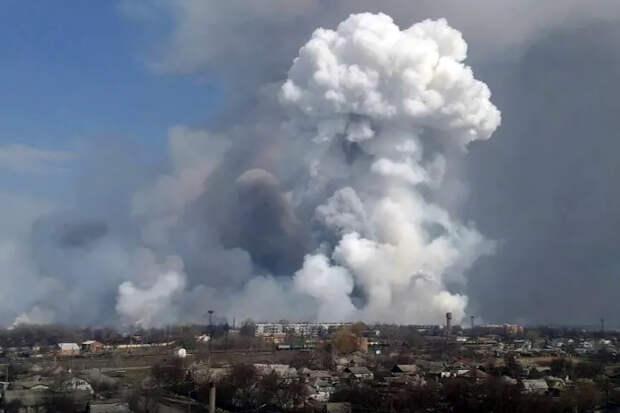 Взрывы прогремели на бывших военных складах под Рязанью