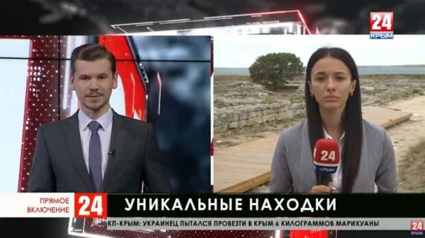 Крымские археологи обнаружили уникальные предметы на территории Усть-Альминского некрополя