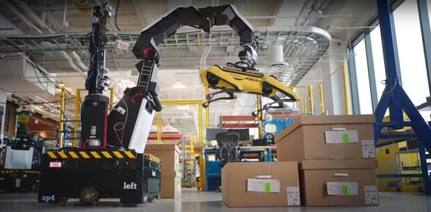 Новый робот от Boston Dynamics может оставить складских грузчиков без работы