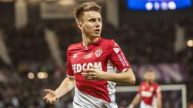 Голевая передача Головина в видеообзоре матча Лиги 1 «Сент-Этьен» — «Монако» — 0:4
