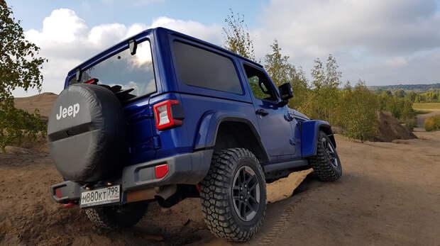 Самый-самый из всех «Джипов»: тест Jeep Wrangler Rubicon