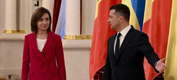 Додон обвинил Зеленского и Санду в сговоре о блокаде Приднестровья