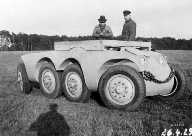 Daimler-Benz MTw 1.   Фото: Porsche cars history.