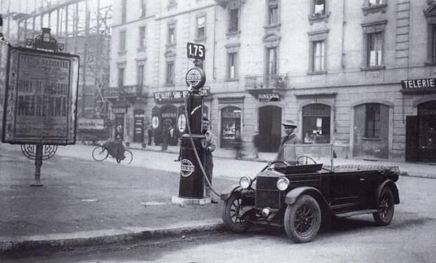 В начале прошлого века бензин был совсем не такой.  Фото: diletant.media.