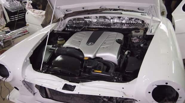 Классическая 21 Волга на современном Lexus GS 330 авто, ретро автомобили, россия, своими руками, ссср
