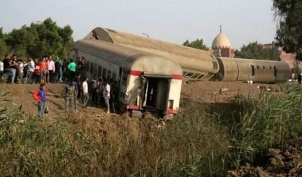 11 человек погибли в Египте при аварии на железной дороге
