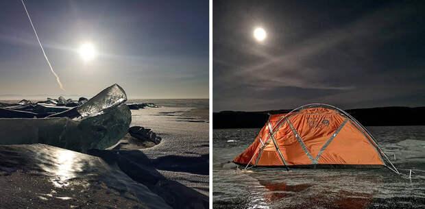 Байкал зимой в одиночку: 10 советов от шведской экстремалки