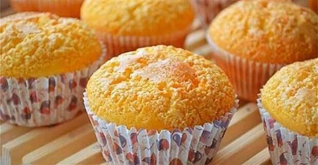 Вкусные и нежные творожные кексы быстрого приготовления