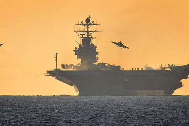"""Американский авианосец """"Гарри Трумэн"""" готовится войти в Чёрное море"""