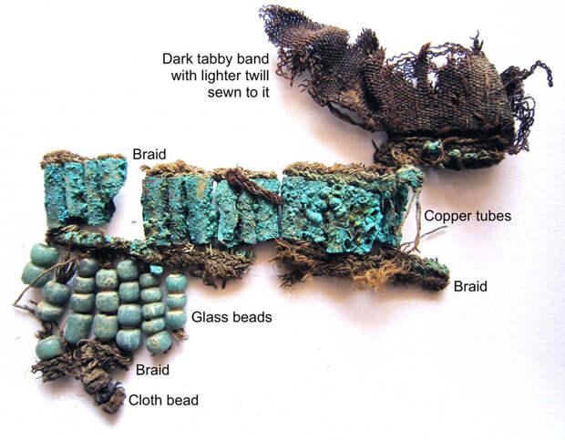 Древние ткани указали на новую ветвь Шёлкового пути