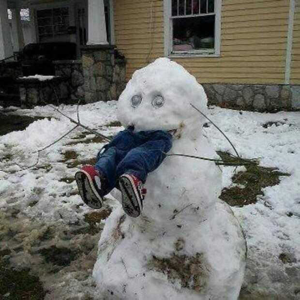Вот и к нам пришла зима - (фельетон от деда Сергия)