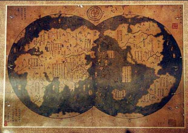 Древние карты, противоречащие известной истории