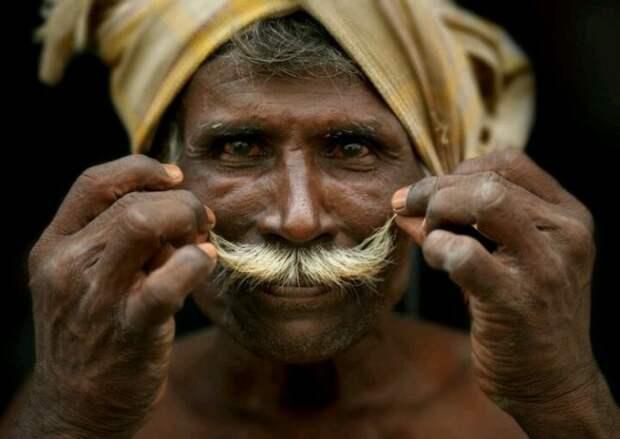 Житель Индии