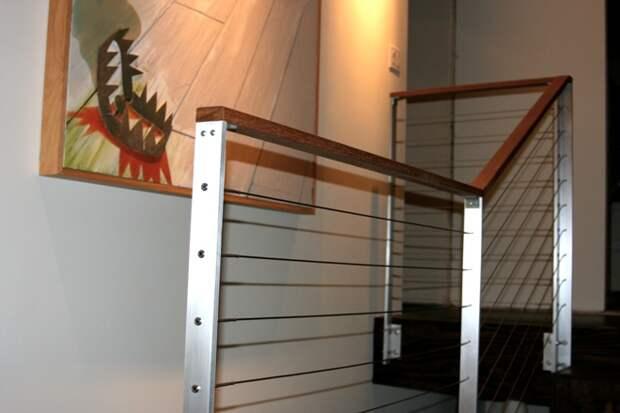 Перила для лестниц: как выбрать подходящую конструкцию для дома (68 фото)