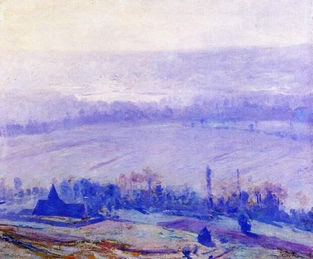 Американский художник-импрессионист Ги Роуз (1867-1925)